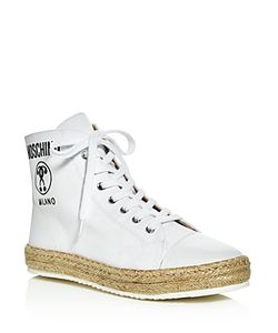 Moschino | High Top Espadrille Sneakers