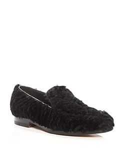 Rupert Sanderson | Langley Rabbit Fur Loafers