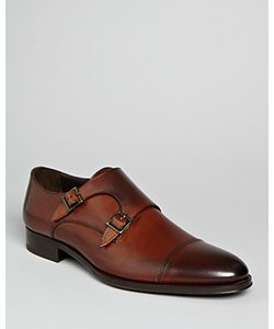 To Boot New York   Medford Leather Double Monkstrap Oxfords