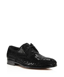 Salvatore Ferragamo | Dennis 2 Crystal Derby Shoes