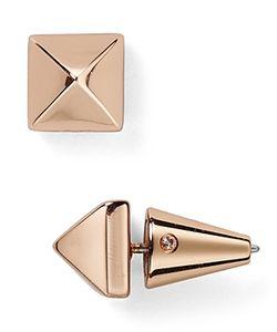 Eddie Borgo | Pyramid Stud Earrings