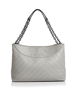 Tory Burch | Chevron Quilt Slouchy Leather Tote