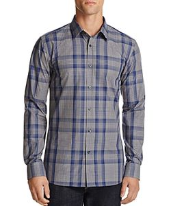 Hugo   Plaid Slim Fit Button-Down Shirt
