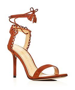 Charlotte Olympia | Salsa Ankle Tie High Heel Sandals