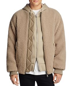 Helmut Lang | Luxe Sherpa Bomber Jacket