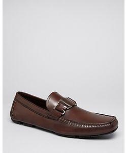 Salvatore Ferragamo   Sardegna Leather Driving Loafers