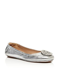 Tory Burch | Minnie Leather Travel Ballet Flats