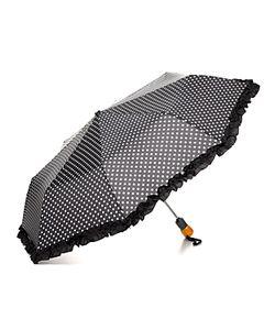 Bloomingdale's | Ruffle Dot Umbrella 100 Exclusive