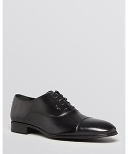 Salvatore Ferragamo | Remigio Leather Cap Toe Oxfords