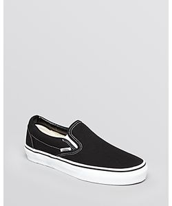 Vans | Unisex Flat Sneakers Classic Canvas Slip-On