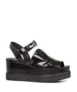 AllSaints | Gino Platform Wedge Sandals