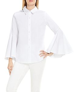 Vince Camuto | Bell Sleeve Button Down Blouse
