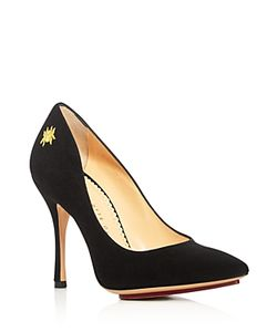 Charlotte Olympia | Bacall Pointed Toe High Heel Pumps