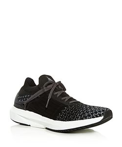 Brandblack | Mens Viento Knit Lace Up Sneakers