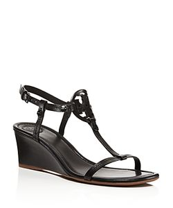 Tory Burch | Miller T Strap Wedge Sandals