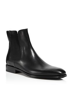 Salvatore Ferragamo | Darien Leather Chelsea Boots 100 Exclusive