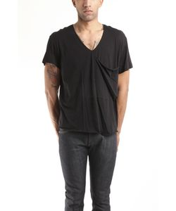 3.1 Phillip Lim | Hand Rolled V-Neck Tee With Slouch Pocket In
