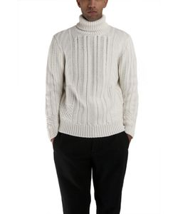 Simon Spurr | Cable Turtleneck