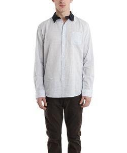 Robert Geller | Contrast Collar Dress Shirt