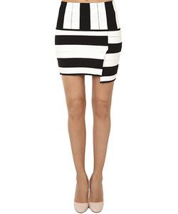 Thakoon | Staggered Stripe Skirt
