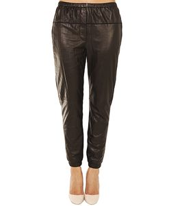 3.1 Phillip Lim | Elastic Leather Sweatpant