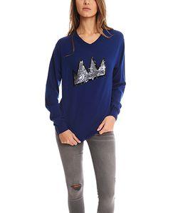 Markus Lupfer | Crown Sequin Sweater