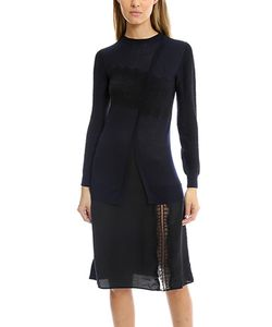 Thakoon Addition | Crossfront Combo Dress
