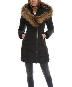 Mackage | Kay Long Classic Down V Fur Jacket