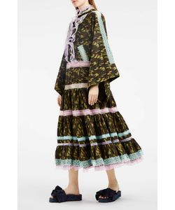 Natasha Zinko   Tiered Print Dress Boutique1