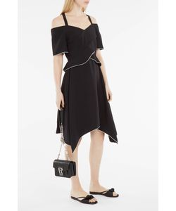 Proenza Schouler | Layered Off-The-Shoulder Dress Boutique1