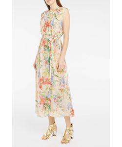 Rochas | Print Georgette Dress Boutique1
