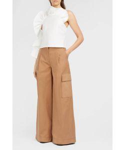 Rachel Comey | Spark Asymmetric Ruffle Top Boutique1