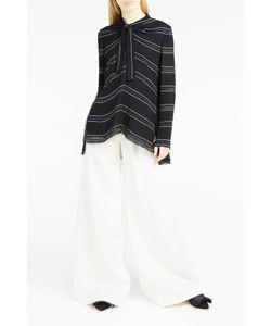 Proenza Schouler | Striped Neck-Tie Blouse Boutique1