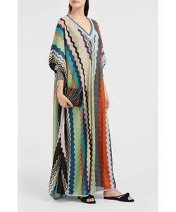 Missoni   Lurex Stripe-Knit Kaftan Boutique1