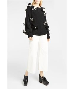 Spencer Vladimir | Womens Mariko Pompom-Embellished Jumper Boutique1