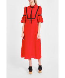 Vivetta   Bib Ruffled Dress Boutique1