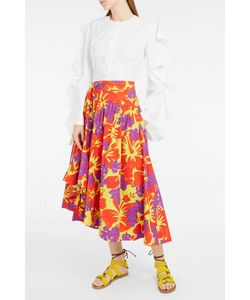 Rosie Assoulin | Print Volume Midi Skirt Boutique1