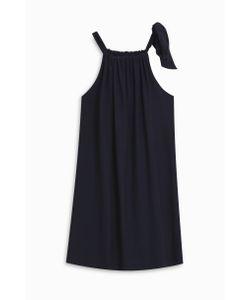 Heidi Klein | Bow Gather Neck Dress