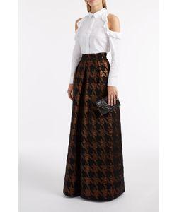 Martin Grant | Brocade Long Pleat Skirt