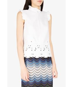 Erdem | Mika Embroidered Top Boutique1