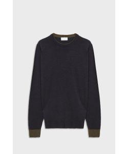 John Smedley   Mens Kenn Crew Neck Merino Wool Pullover Boutique1