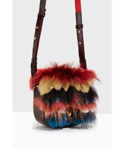 Paula Cademartori | Beth Fur Embellished Cross Bag Boutique1