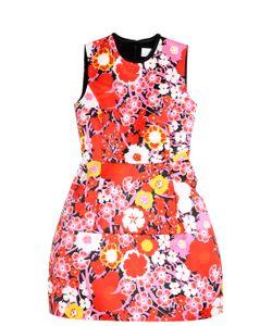 Victoria, Victoria Beckham | Structured Flower Print Dress