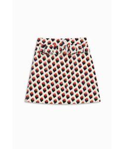 Victoria, Victoria Beckham | Strawberry Jacquard Skirt Boutique1