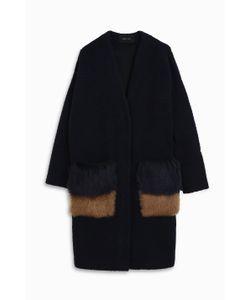 Anne Vest | Womens Two Tone Pocket Cardigan Boutique1