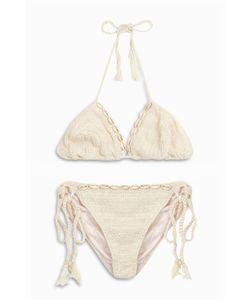 Anna Kosturova   Womens Triangle Shell Bikini Boutique1