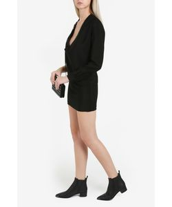 Anthony Vaccarello | Womens Lace Up One Sleeve Dress Boutique1
