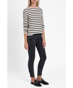 Current/Elliott | Womens The Zip Moto Skinny Jeans Boutique1