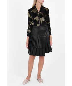 Adam Lippes | Womens Triple Pleat Skirt Boutique1