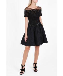 Marchesa Notte | Womens Brocade Cocktail Dress Boutique1
